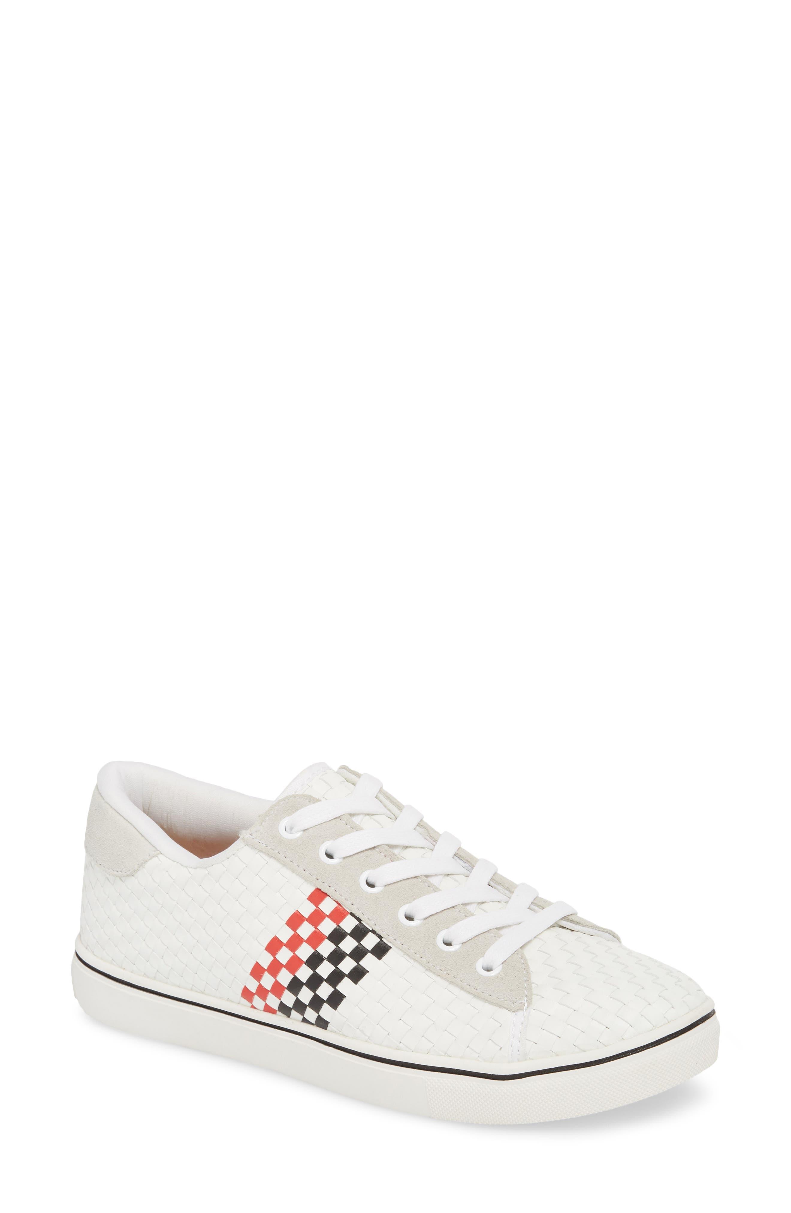 Bernie Mev. Essex Sneaker, White
