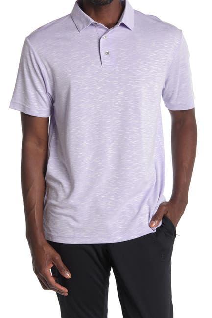 Image of PGA TOUR Short Sleeve Slub Polo Shirt