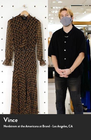 Dallas Floral Long Sleeve V Neck Dress, sales video thumbnail