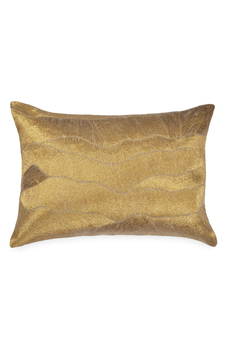 MICHAEL ARAM After The Storm Accent Pillow, Main, color, GOLD