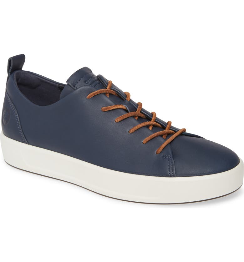ECCO Soft VII Lace-Up Sneaker, Main, color, 427