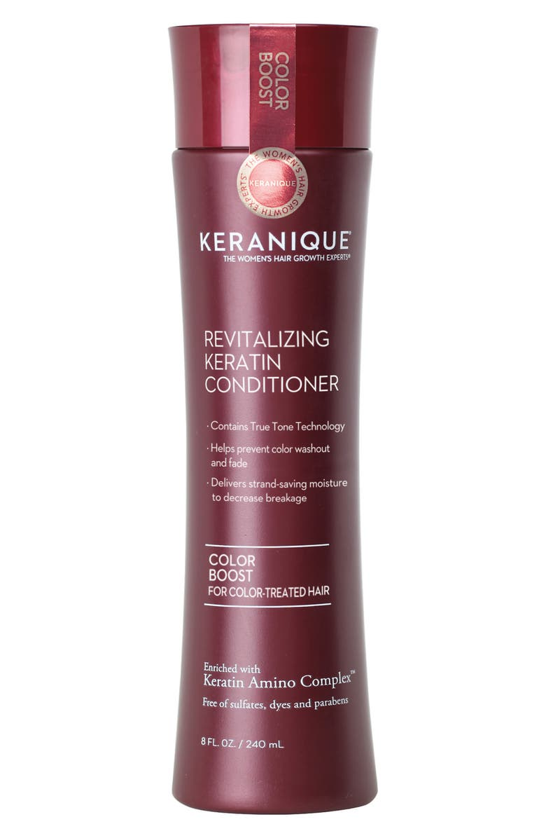 KERANIQUE Color Boost Scalp Revitalizing Keratin Conditioner, Main, color, NO COLOR