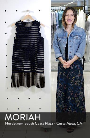 Relioa Metallic Jacquard Knit Dress, sales video thumbnail