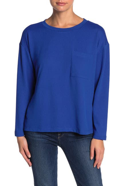 Image of Sanctuary Lightweight Pocket Sweatshirt