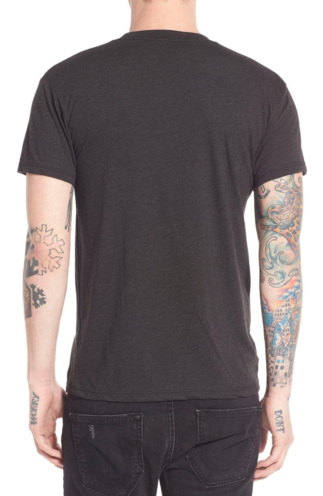 ,                             'Fry Day' Crewneck T-Shirt,                             Alternate thumbnail 5, color,                             001