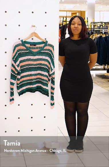 Remy Stripe Sweater, sales video thumbnail