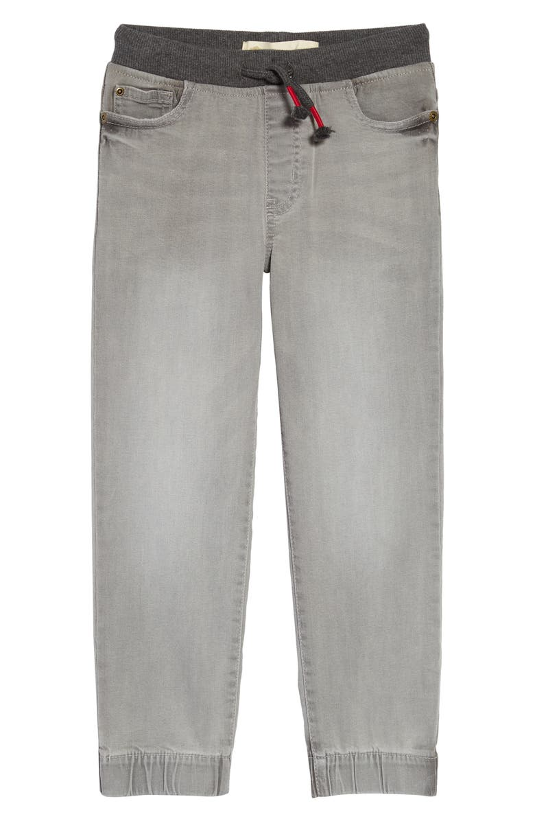 TUCKER + TATE Kids' Rib Waist Jeans, Main, color, SEATTLE FOG WASH
