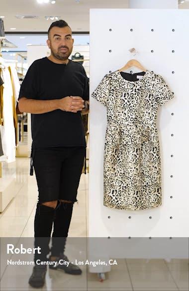Metallic Leopard Print Dress, sales video thumbnail