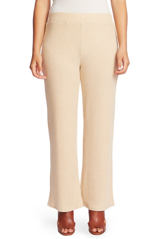 Chaus Ribbed Brushed Jersey Pull-on Pants In Wildwood