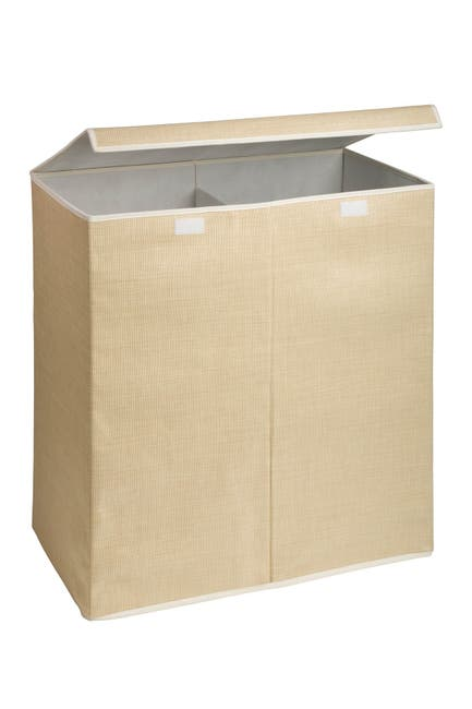 Image of Honey-Can-Do Resin Double Hamper