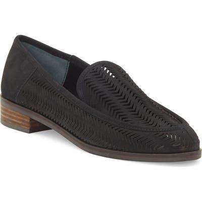Lucky Brand Camdyn Cutout Loafer- Black