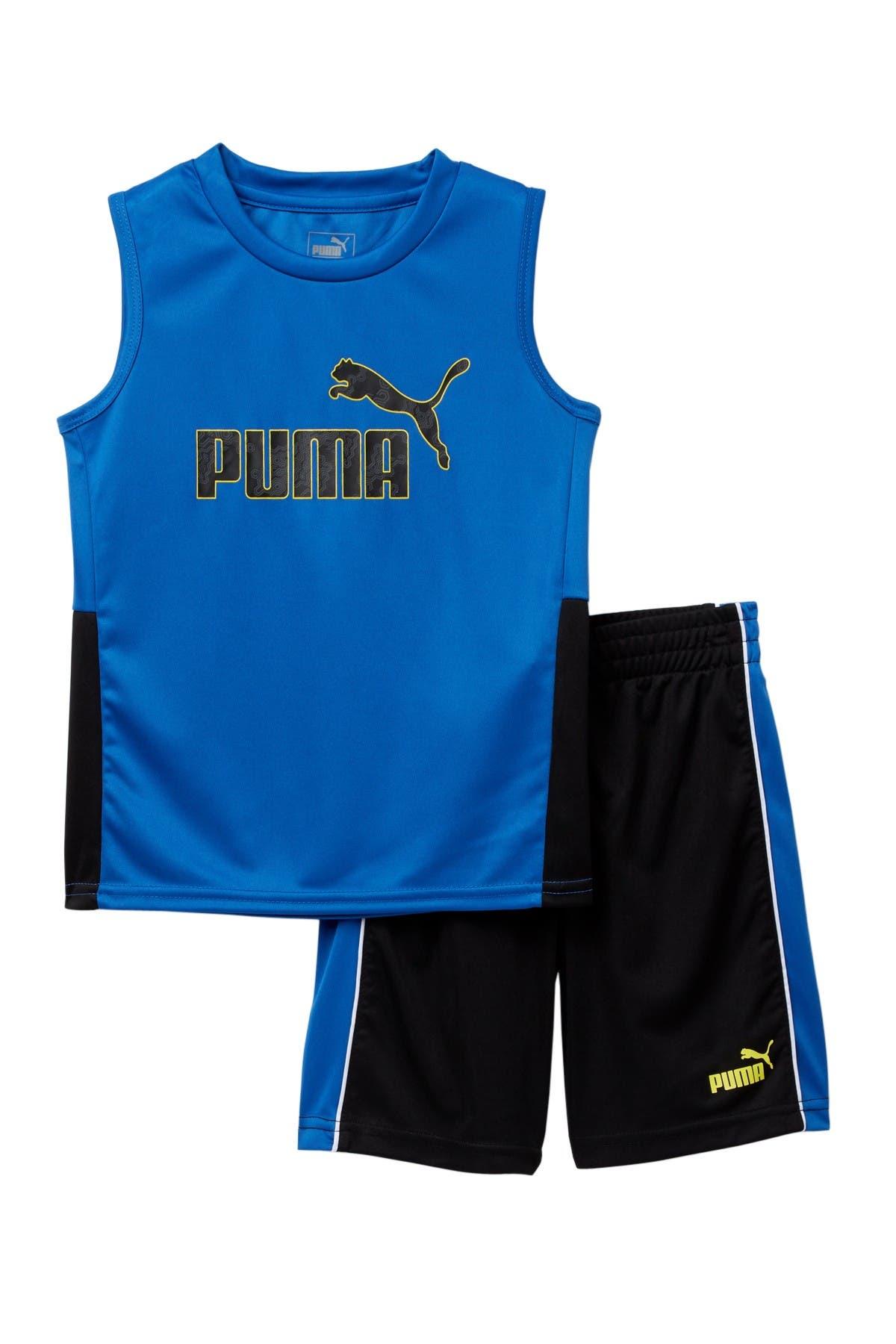 PUMA Tank & Shorts 2-Piece Set
