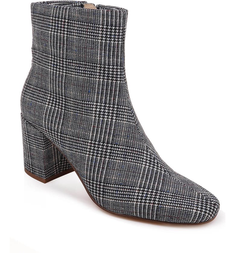 SPLENDID Heather Bootie, Main, color, GREY PLAID FABRIC