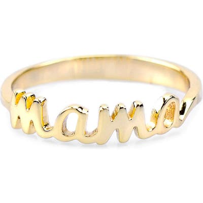 Kris Nations Mama Script Ring