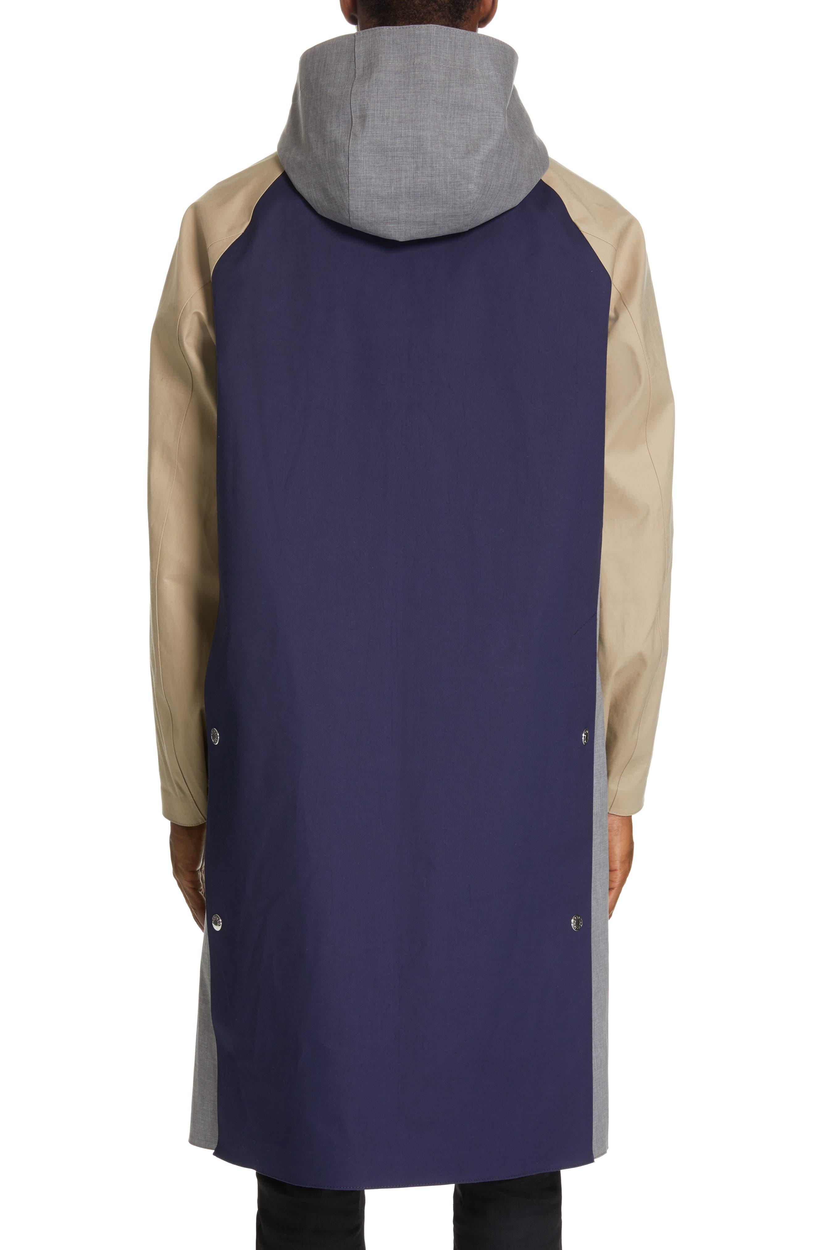 ,                             Bonded Cotton Hooded Jacket,                             Alternate thumbnail 3, color,                             LIGHT TOP GREY/ INK