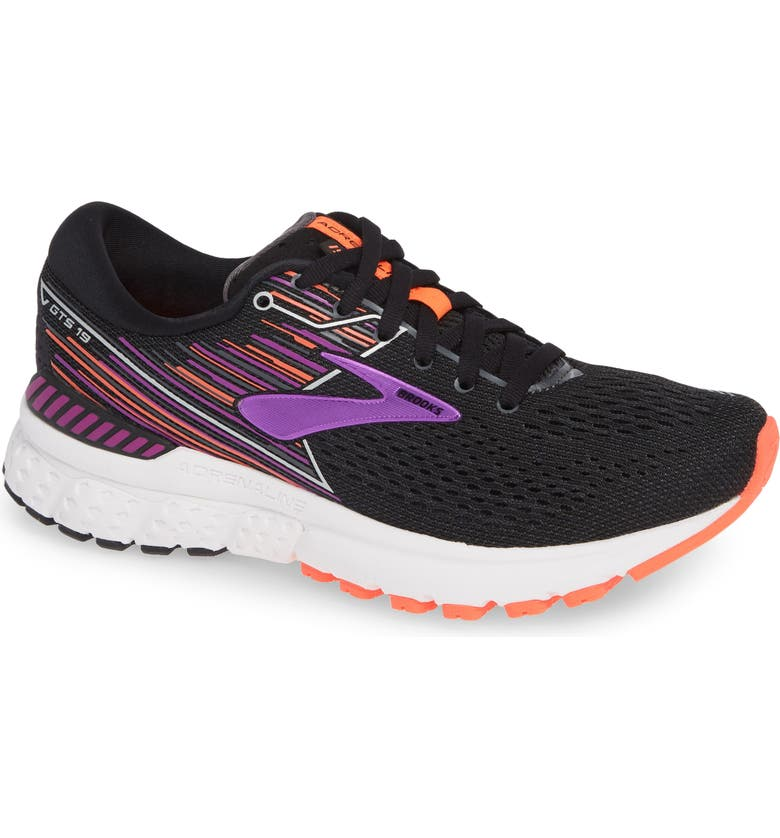 BROOKS Adrenaline GTS 19 Running Shoe, Main, color, 001
