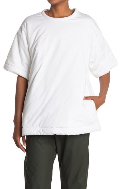 Image of MAISON MARTIN MARGIELA Padded Pocketed T-Shirt