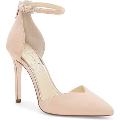 Jessica Simpson Paisleah Ankle Strap Pump- Pink