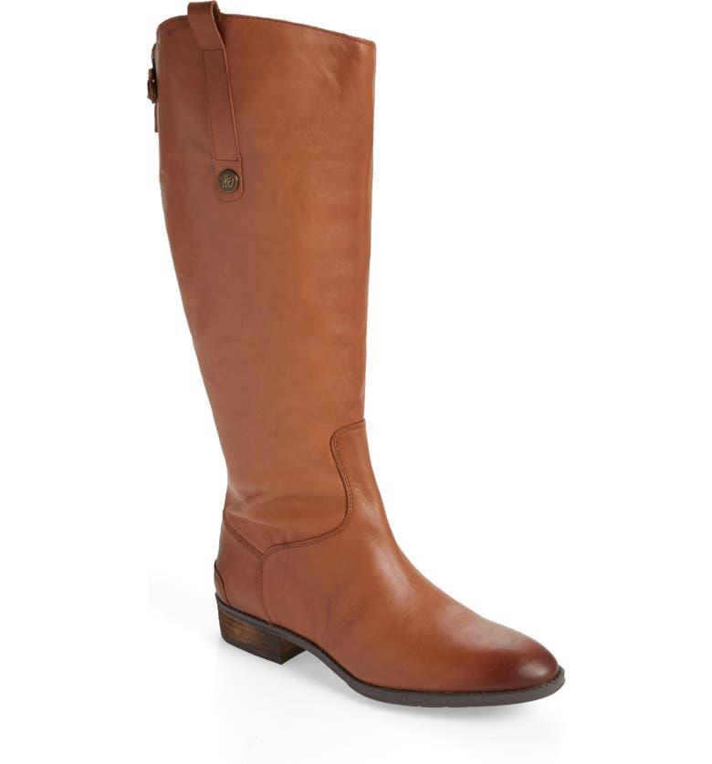 SAM EDELMAN Penny Boot, Main, color, WHISKEY WIDE CALF