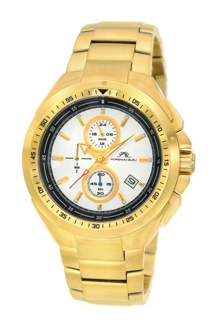 Image of Porsamo Bleu Men's Damien Bracelet Watch, 47mm