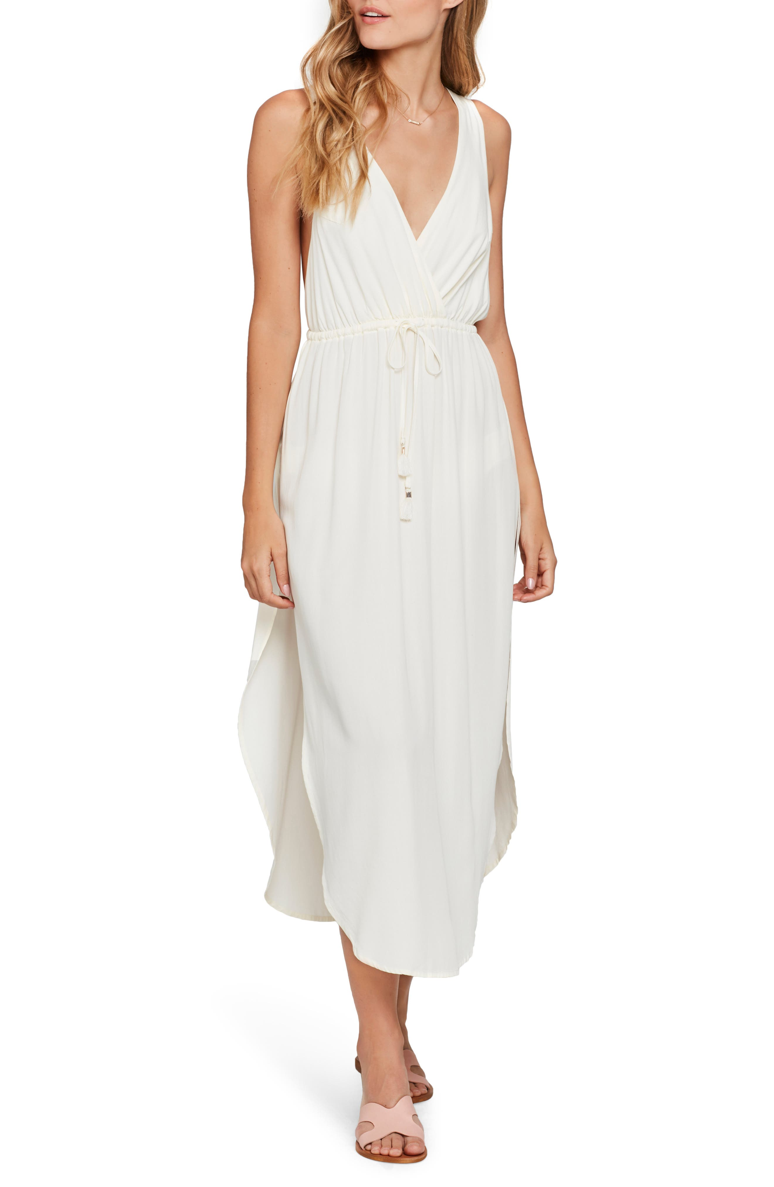 L Space Kenzie Cover-Up Midi Dress, Ivory