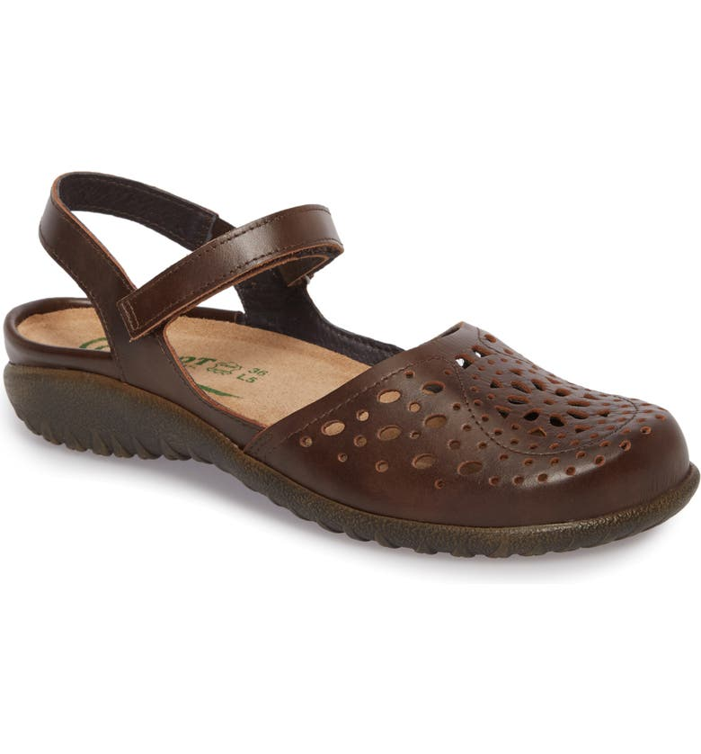 NAOT 'Arataki' Mary Jane, Main, color, PECAN BROWN LEATHER