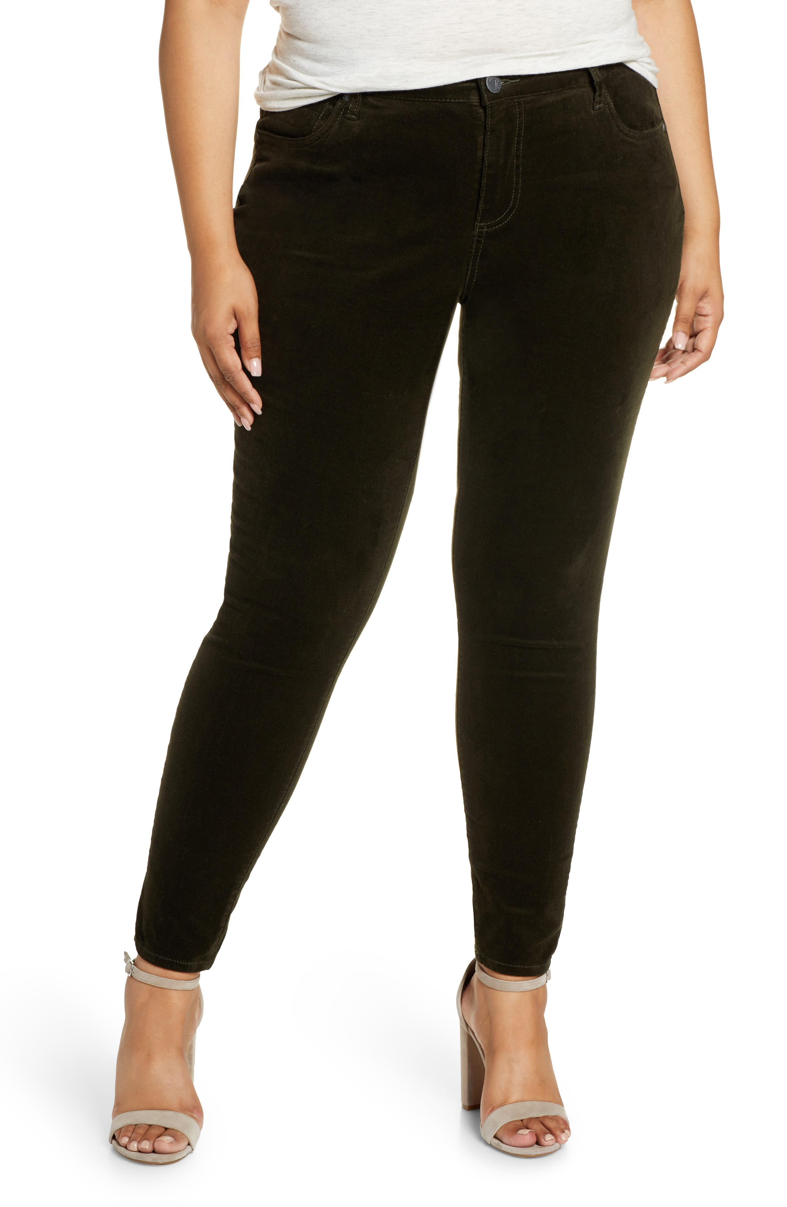 Image of KUT from the Kloth Diana Cord Skinny Jeans