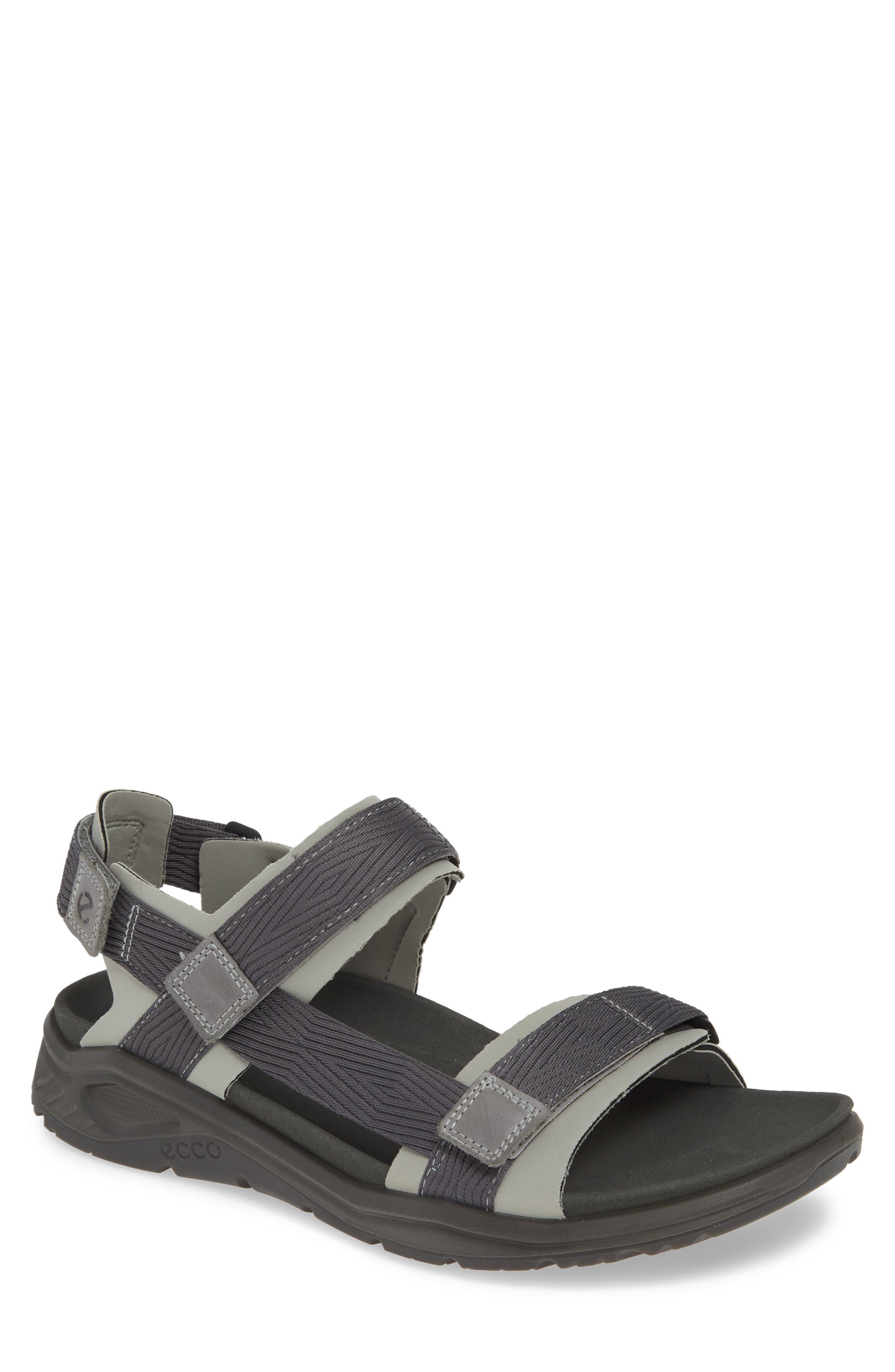 UPC 809704915845 product image for Men's Ecco X-Trinsic Sandal, Size 13-13.5US / 47EU - Grey | upcitemdb.com