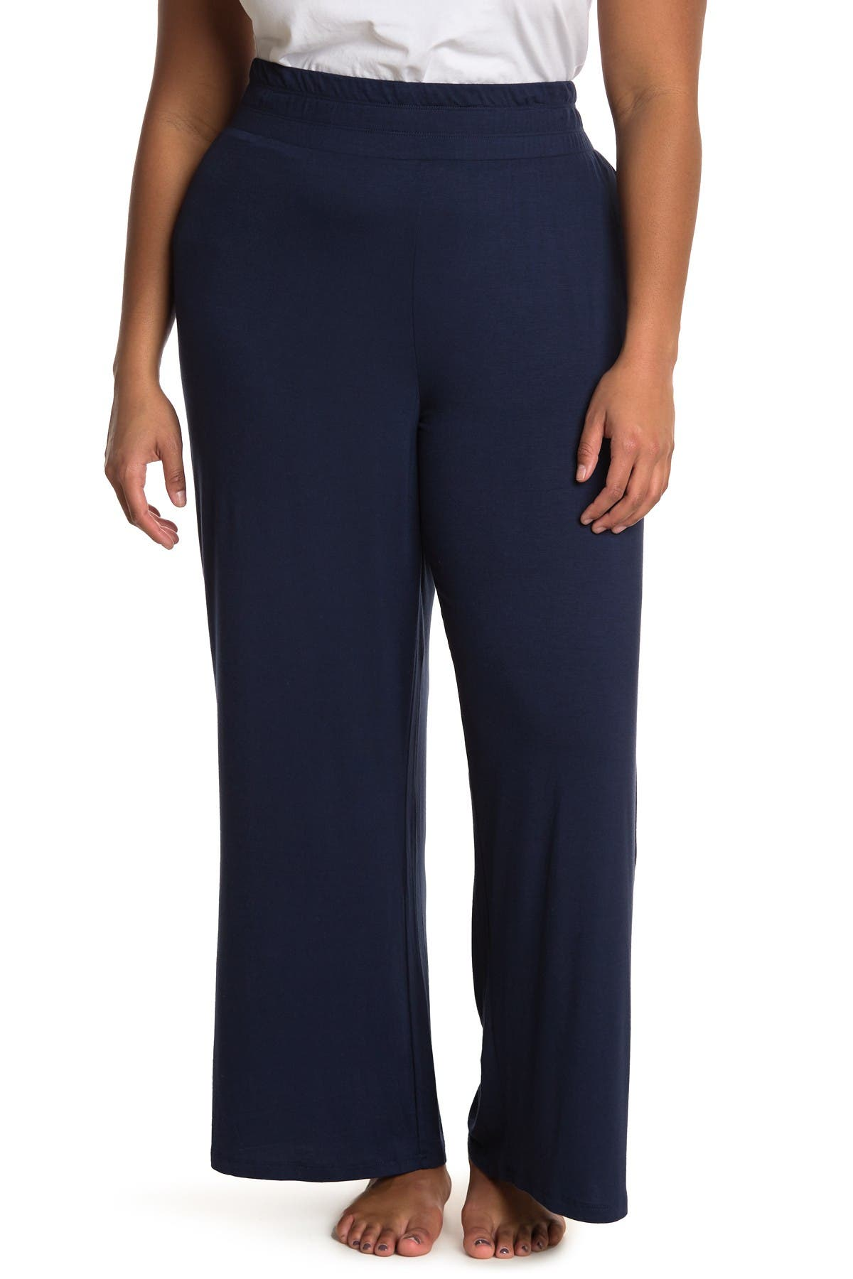 Image of Bobeau High Waisted Palazzo Pants