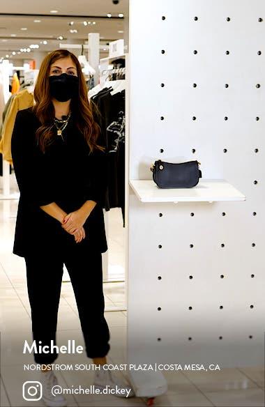 Swinger Glovetanned Leather Shoulder Bag, sales video thumbnail