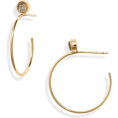 Gorjana Camille Hoop Earrings