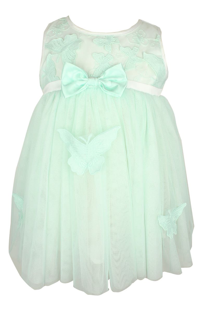 POPATU Sleeveless Tulle Dress, Main, color, MINT