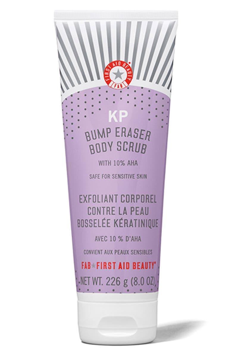 FIRST AID BEAUTY KP Bump Eraser Body Scrub, Main, color, NO COLOR