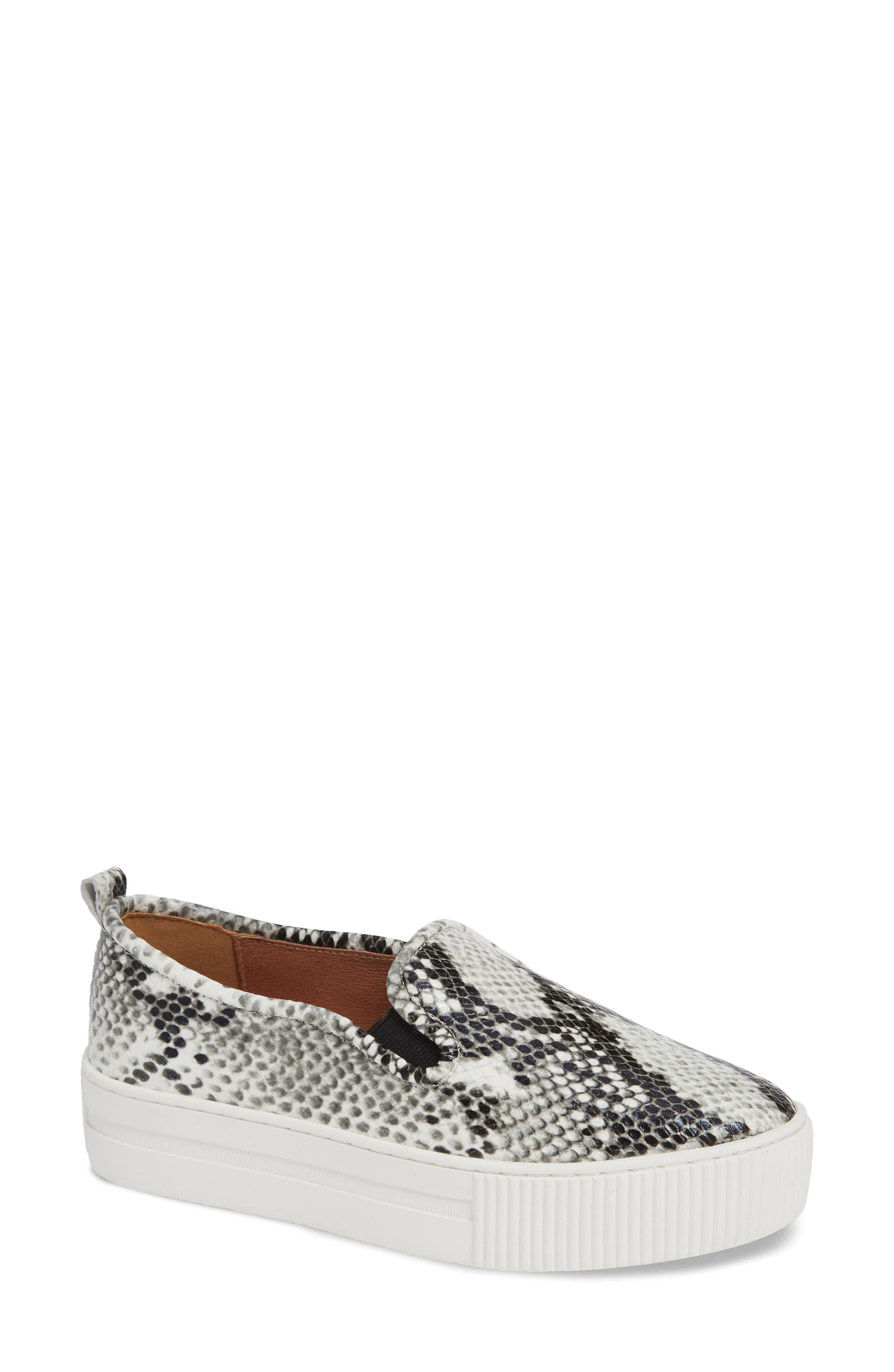 Baylee Platform Slip-On Sneaker, Main, color, PYTHON PRINTED LEATHER