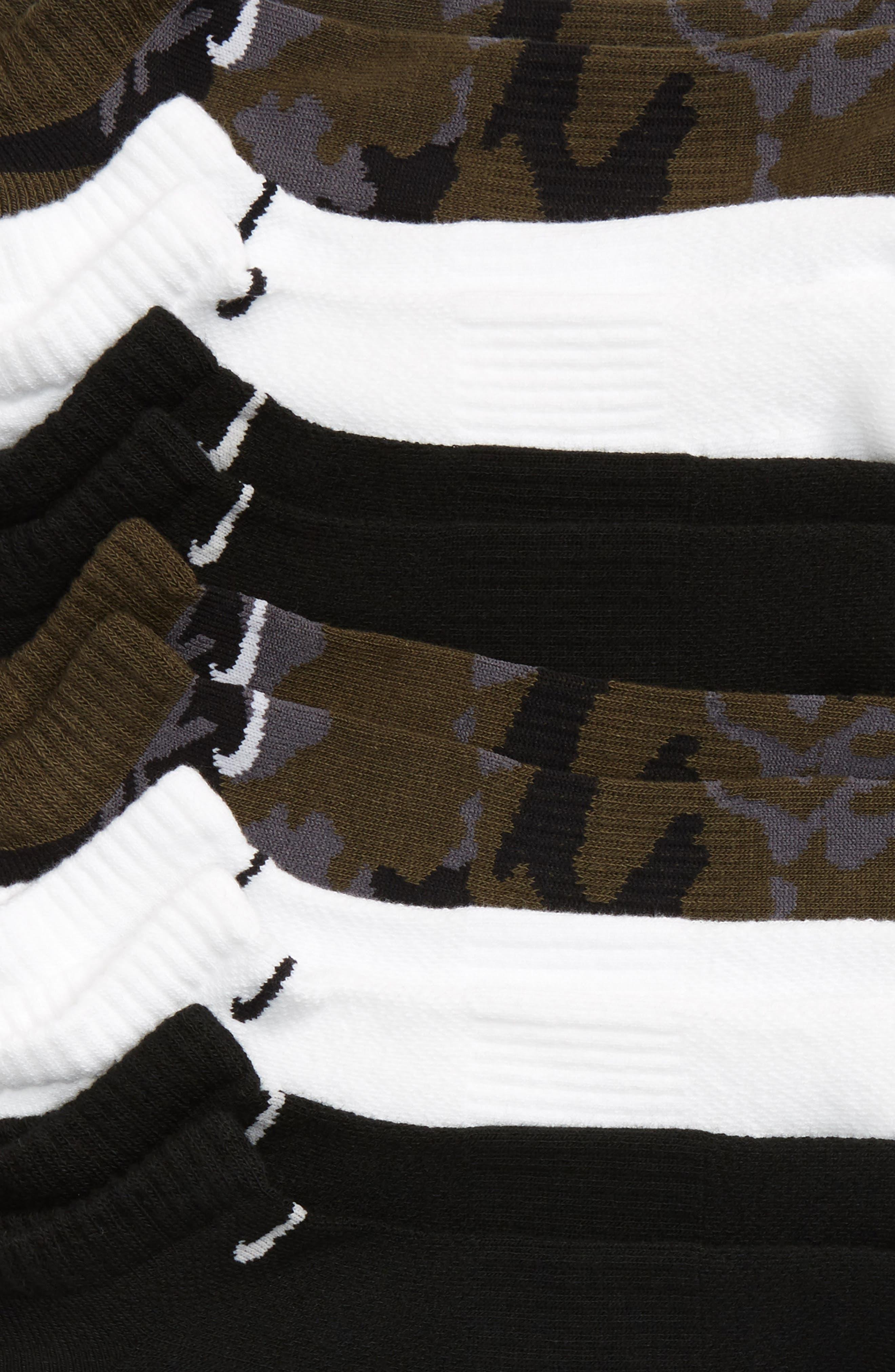 ,                             6-Pack Dri-FIT No-Show Socks,                             Alternate thumbnail 4, color,                             300