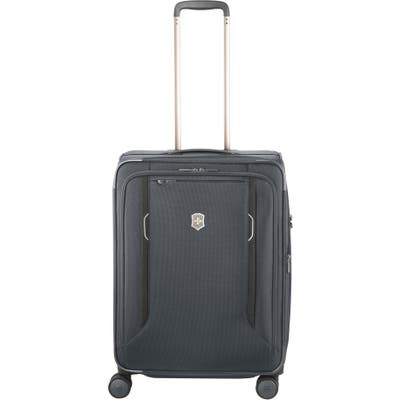 Victorinox Swiss Army Werks 6.0 Medium 25-Inch Spinner Packing Case - Grey