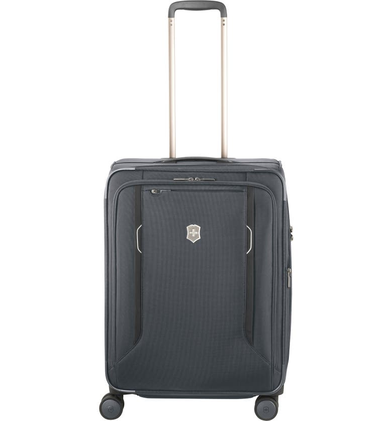 VICTORINOX SWISS ARMY<SUP>®</SUP> Werks 6.0 Medium 25-Inch Spinner Packing Case, Main, color, 020