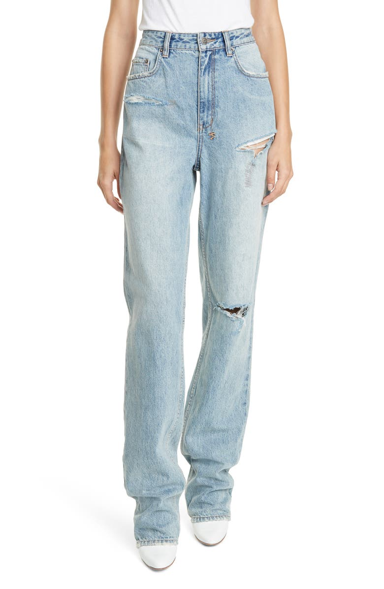 where to buy pick up authentic Ksubi x Kendall Jenner Playback Ripped Jeans (Skream Flash ...