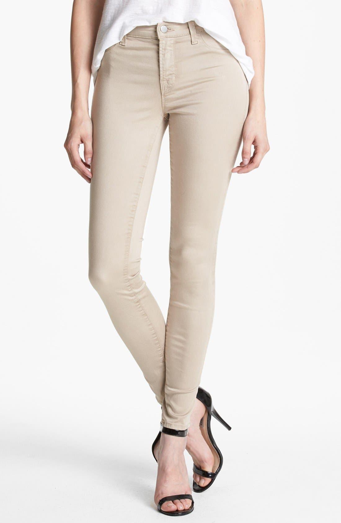 ,                             '485' Mid Rise Super Skinny Jeans,                             Main thumbnail 16, color,                             250