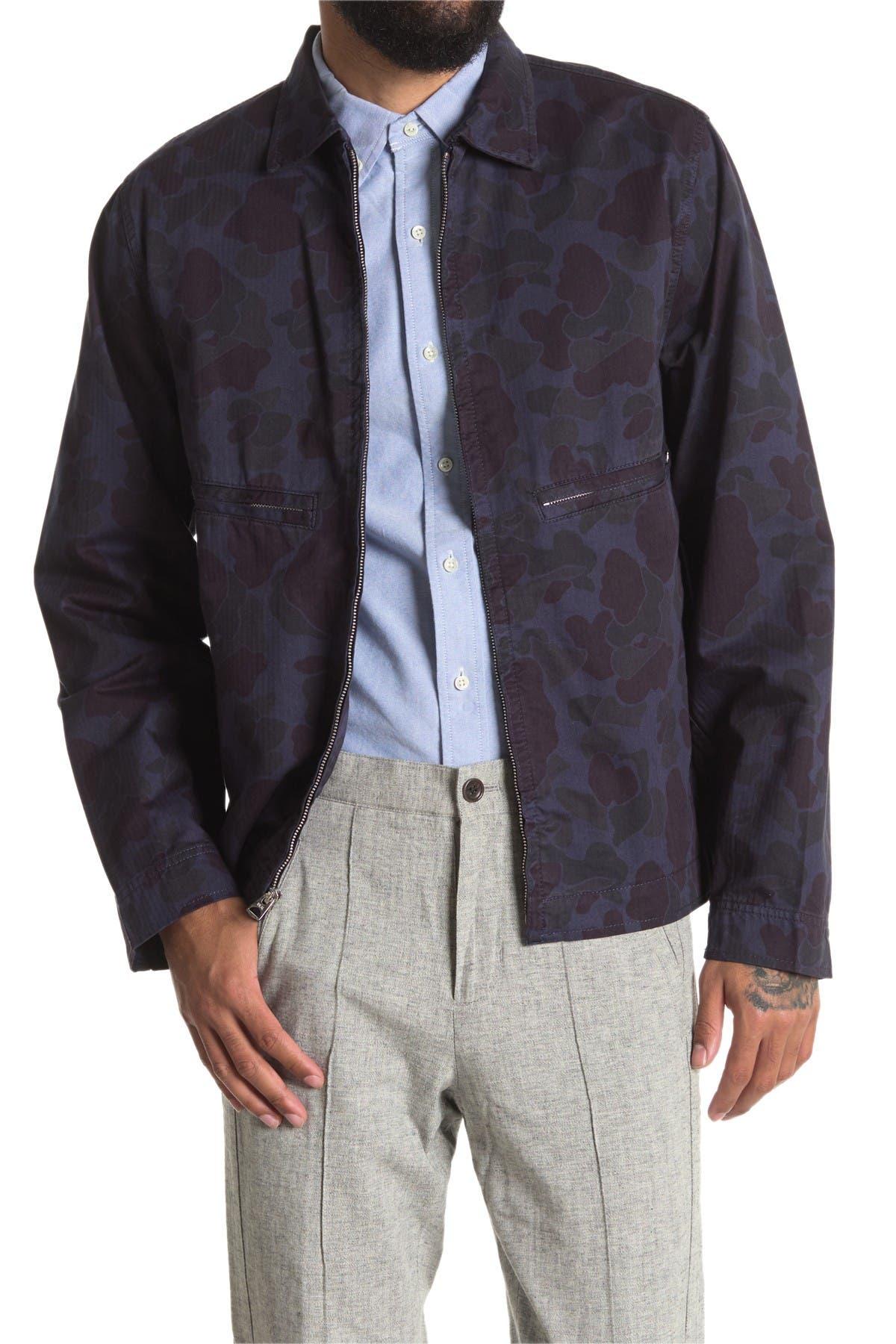 Image of ALEX MILL Printed Zip Jacket