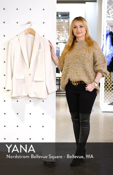 Loose Fit Blazer, sales video thumbnail