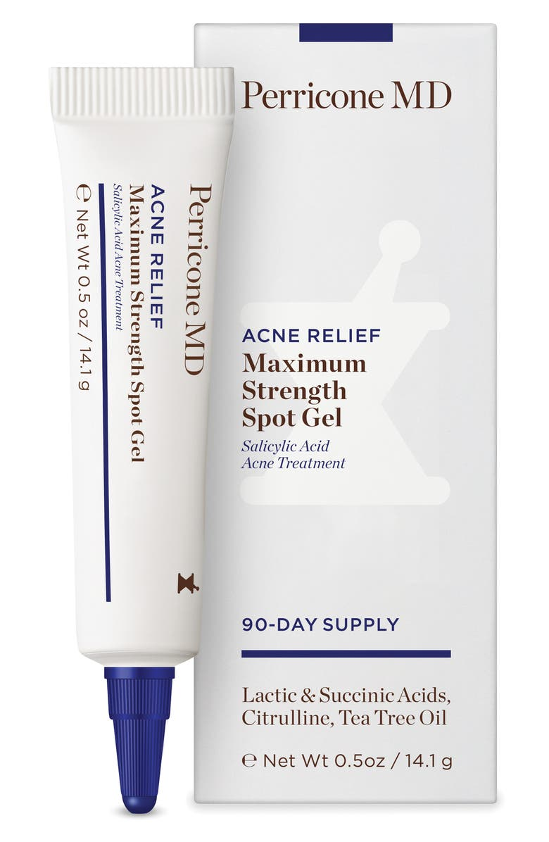 PERRICONE MD Acne Relief Maximum Strength Spot Gel, Main, color, NO COLOR