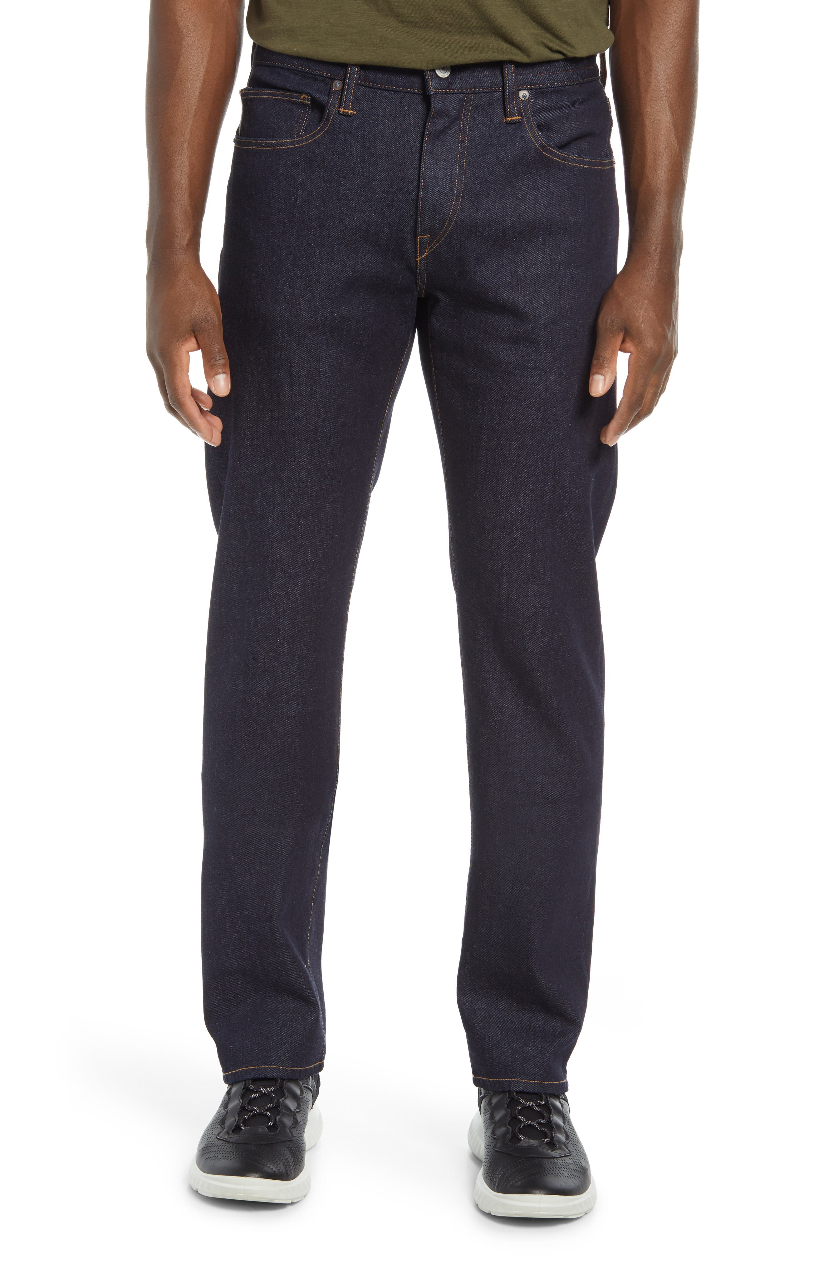 Straight Fit Stretch Selvedge Jeans