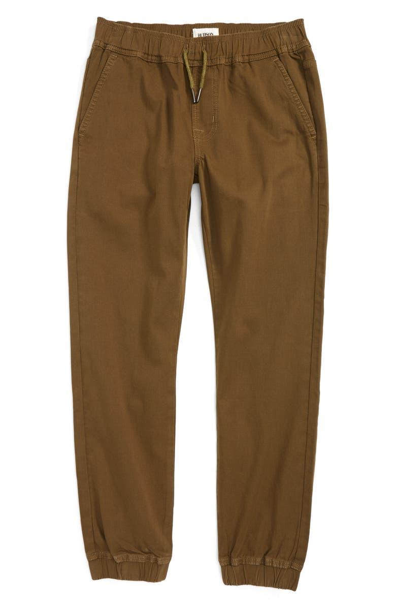 HUDSON KIDS Charlie Slim Jogger Pants, Main, color, 206