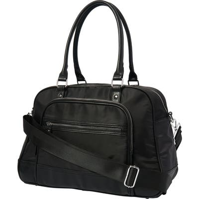 Urban Originals Moon Nylon Overnight Bag - Black