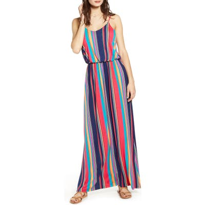 All In Favor Knit Maxi Dress, Coral