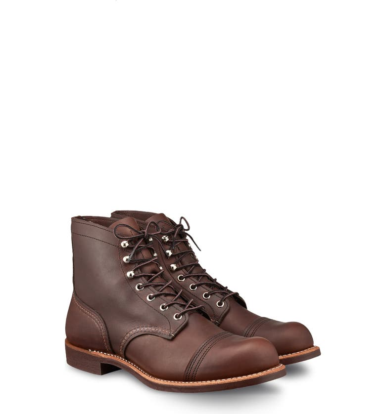 RED WING 'Iron Ranger' 6 Inch Boot, Main, color, 201