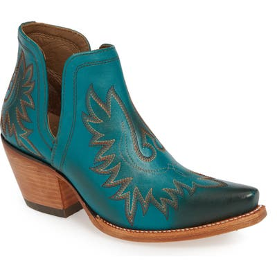 Ariat Dixon Bootie, Blue/green