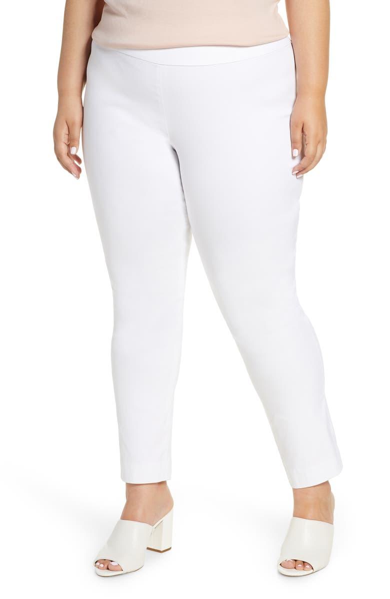NIC+ZOE Polished Wonderstretch Pants, Main, color, 123