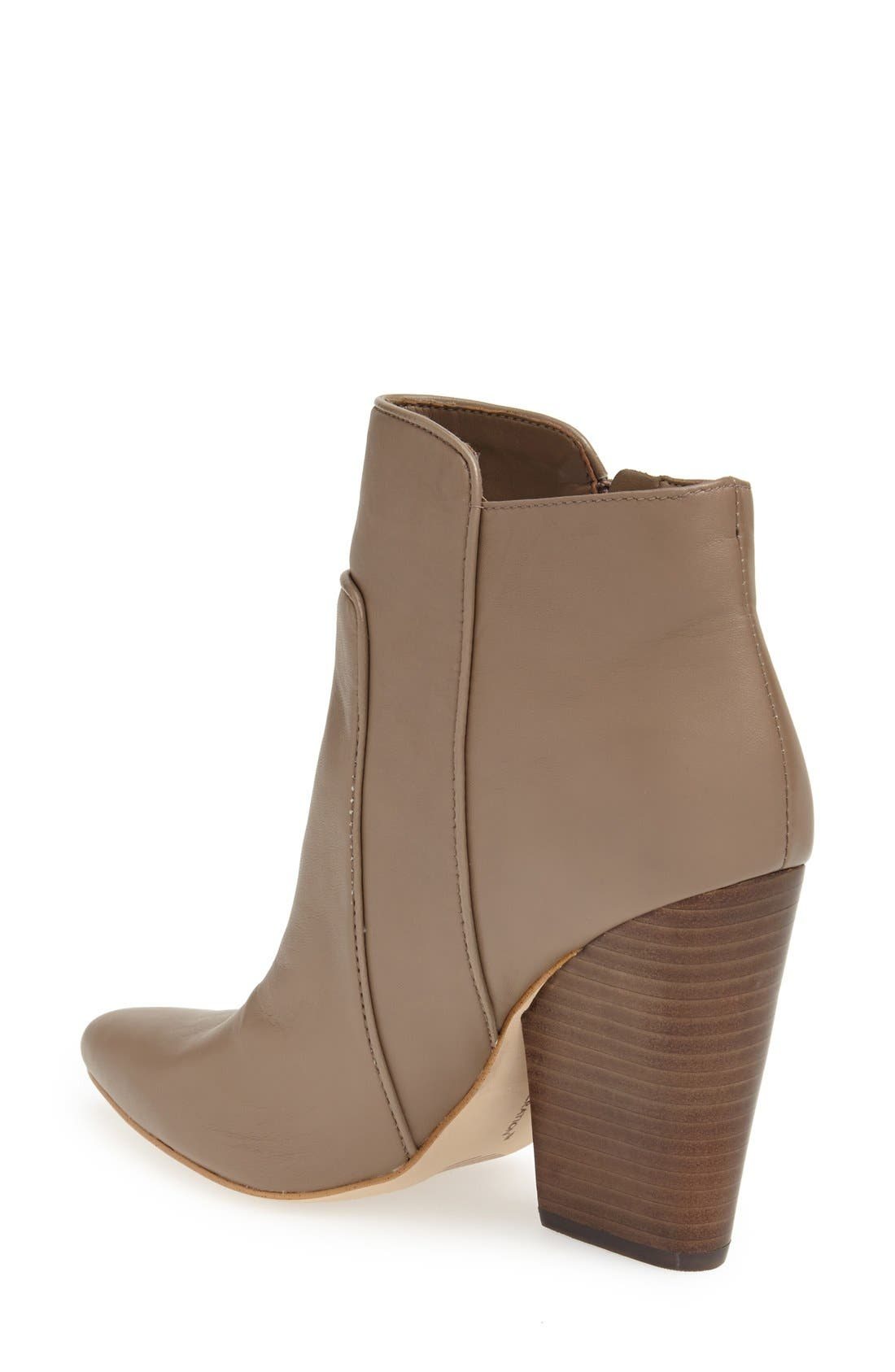 ,                             'Jules' Pointy Toe Leather Bootie,                             Alternate thumbnail 6, color,                             251